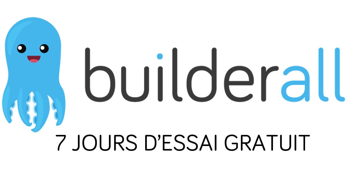 Builderall en français - Inscription aux 7 jours d'essai gratuit