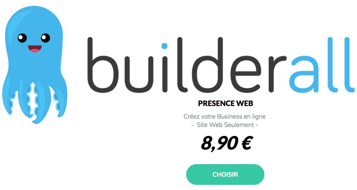 Builderall en français : 8,90€