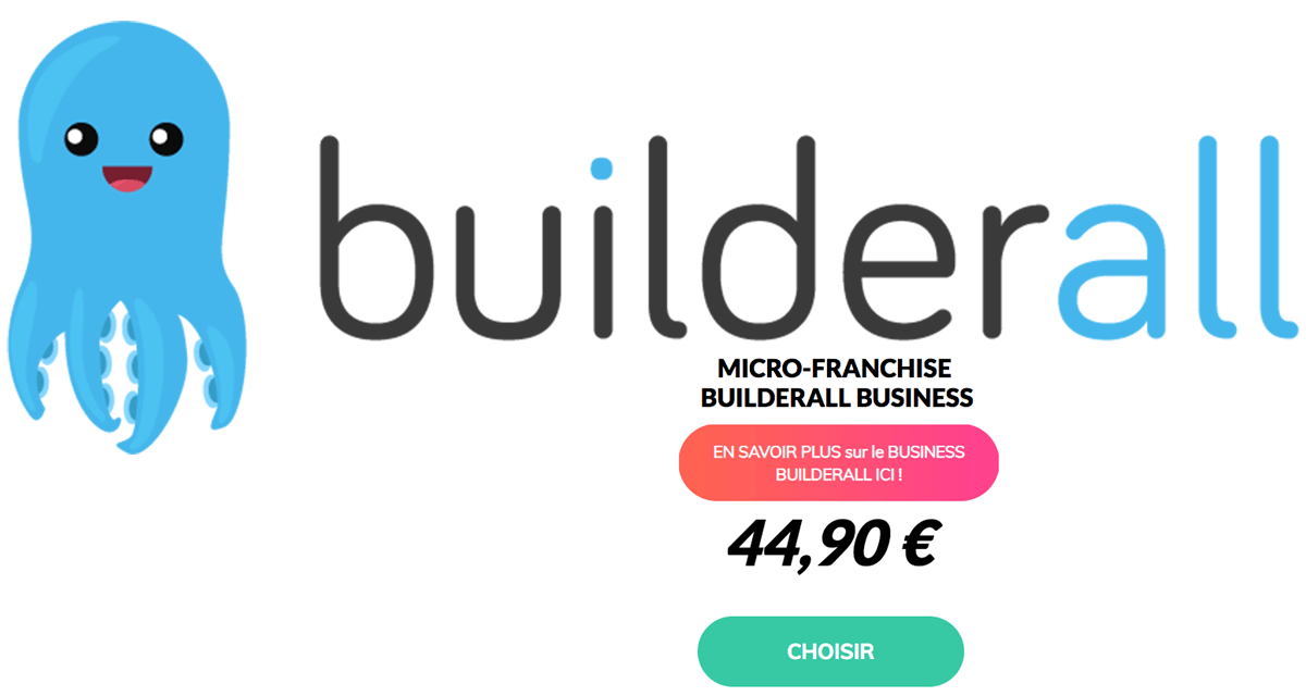 Builderall en français : 44,90€